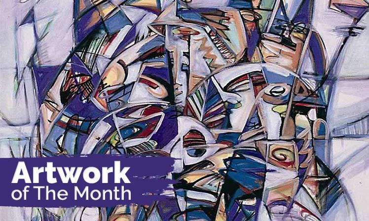 Artwork of the Month: Batek Expression II by Sabri Mohd Salleh